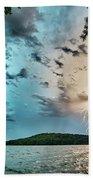 Beautiful Landscape Scenes At Lake Jocassee South Carolina Beach Towel