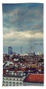Berlin Skyline Beach Towel