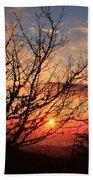 Blue Ridge Sunrise Beach Towel