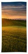 Cereal Fields Beach Towel