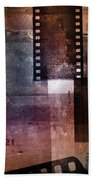 Film Strips 3 Beach Towel