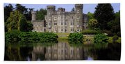 Johnstown Castle, Co Wexford, Ireland Beach Towel