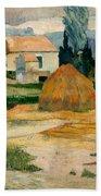 Landscape Near Arles Beach Towel