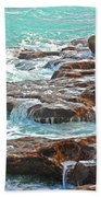 5- Ocean Reef Shoreline Beach Towel