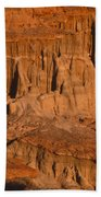 Red Cliffs  Beach Towel