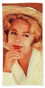 Sandra Dee, Vintage Actress Beach Towel