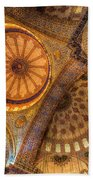 The Blue Mosque Istanbul  Beach Towel