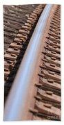 Train Track Beach Towel