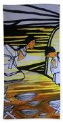 The Annunciation Beach Towel
