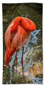 5182- Flamingo Beach Towel