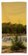 Grand Falls Waterfall Beach Towel