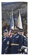 54th Regiment Bos2015_183 Beach Towel