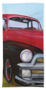 55 Chevy Truck Beach Towel
