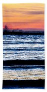 Sunset Bay Beach Beach Towel