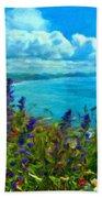 Landscape Lighting Beach Towel