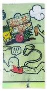 5719 - Graffiti Beach Towel