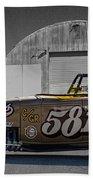 581 Bonneville Race Car Beach Towel