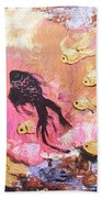 8 Gold Fish Beach Towel