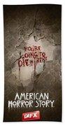 American Horror Story 2011 Beach Towel