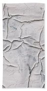 Cracked Paint Beach Towel