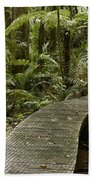 Forest Boardwalk Beach Towel