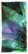 Jeweled Water Lilies Beach Sheet