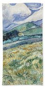 Landscape From Saint-remy Beach Towel