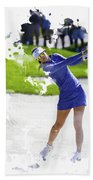 Michelle Wie Beach Towel