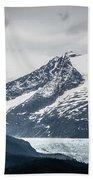 Mountain Range Scenes In June Around Juneau Alaska Beach Towel