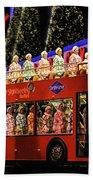 Radio City Rockettes New York City Beach Towel