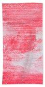 Red Wood Beach Towel