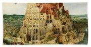 The Tower Of Babel  Beach Sheet