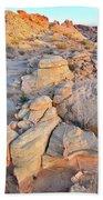 Valley Of Fire Sunrise Beach Towel