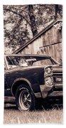 Classic Cars Beach Towel