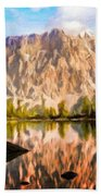 Nature Work Landscape Beach Towel