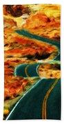 Nature Work Landscape Beach Towel