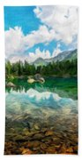 Landscape Pictures Nature Beach Towel