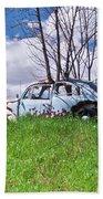 67 Volkswagen Beetle Beach Towel