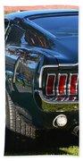 67 Mustang Fastback Beach Towel