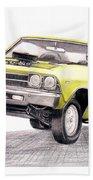 69 Chevelle Ss Beach Sheet
