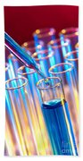 Laboratory Experiment In Science Research Lab Beach Towel