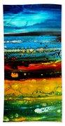Abstract  Landscape Beach Towel
