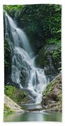 Beautiful Waterfall Beach Towel