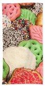 Christmas Cookies Beach Towel