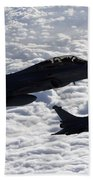 Dassault Rafale B Of The French Air Beach Towel