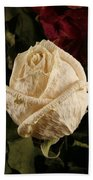 Dried Roses Beach Towel