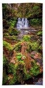 Goit Stock Waterfall Beach Towel