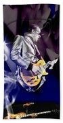 Joe Bonamassa Blues Guitarist Art Beach Towel
