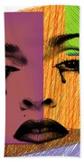 Madonna  Beach Towel