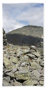 Mount Washington - White Mountains New Hampshire Usa Beach Sheet